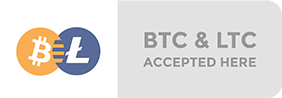 Bitcoin & Litecoin accepted here